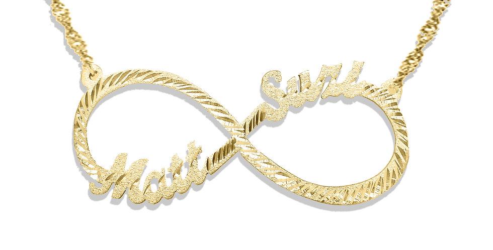 Custom Infinity Name Necklace | Usa Name Necklace | Custom Name.