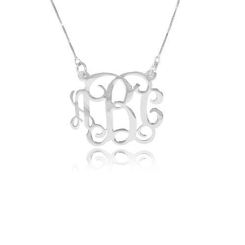 UsaNameNecklace.com | Monogram jewelry | Personailzed Monogram necklace