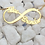 Personalized Infinity Name Necklace UsaNameNecklace