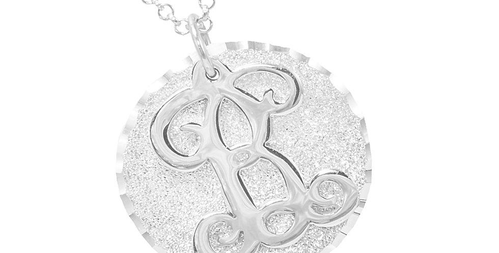 USAnamenecklace , Custom Jewelry , Monogram Name Necklace . Initial Necklace