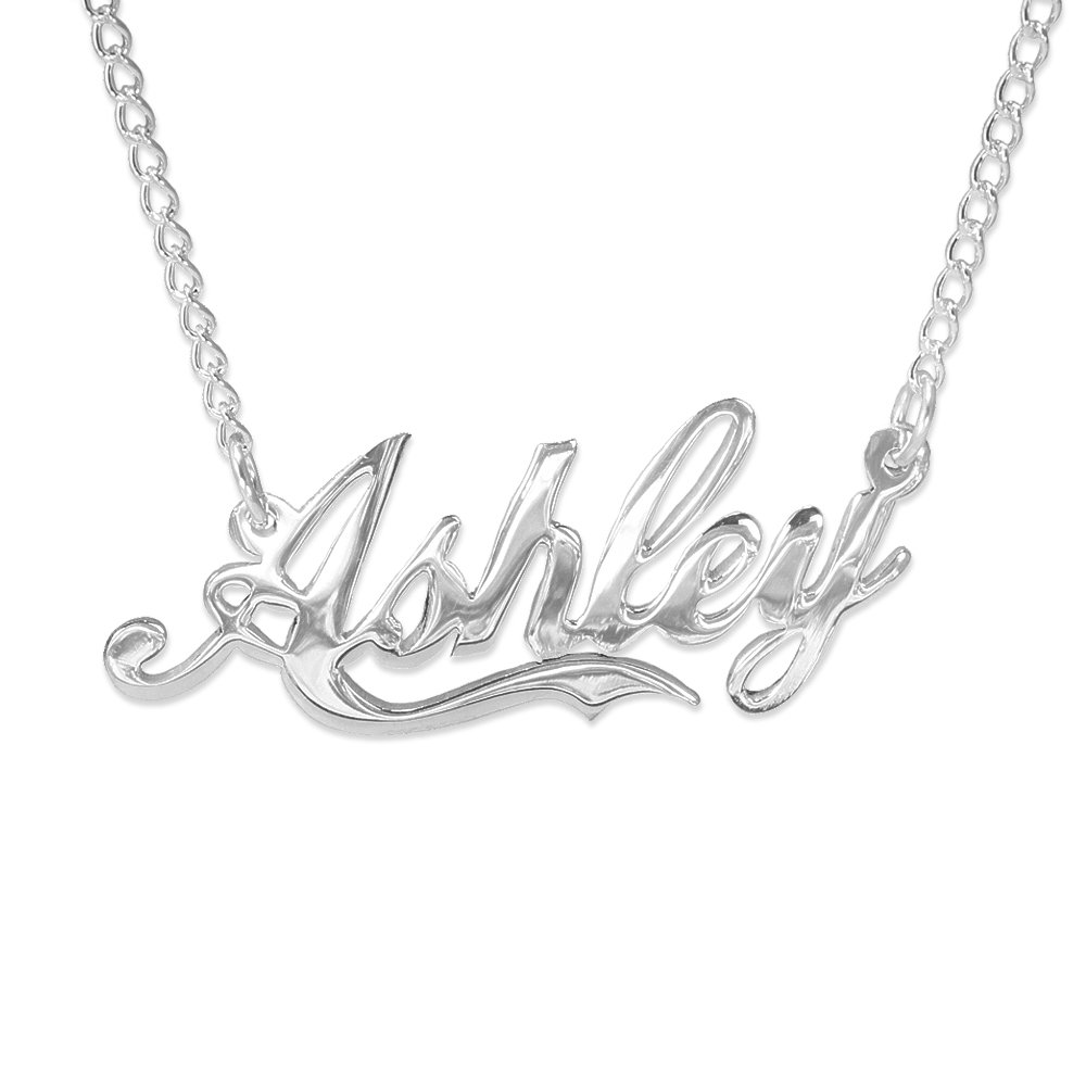 Personalized Sterling Silver Name Necklace | usanamenecklace