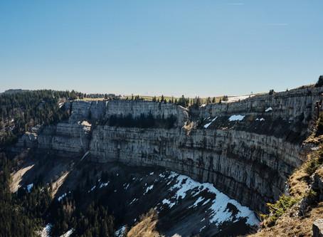 Auf zum Grand Canyon der Schweiz! - Wir starten unsere Wandersaison