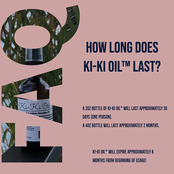 Kiki Oil for hair, oil for alopecia, hair growth oil, what can i do for my bald head, how to make my hair grow, help my hair grow fast