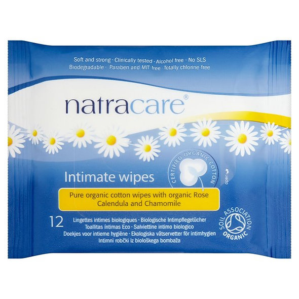 Natracare Intimate Wipes
