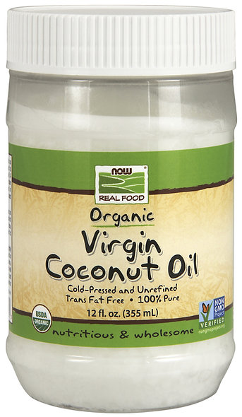 Virgin Coconut Oil, 12oz