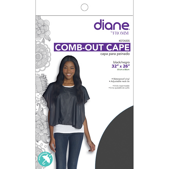 Diane Comb Out Cape