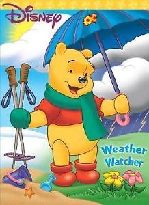 Winnie the Pooh Weather Watcher Coloring Book