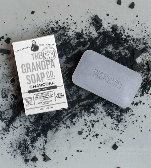 Activated Charcoal Bar Soap, 1.35oz