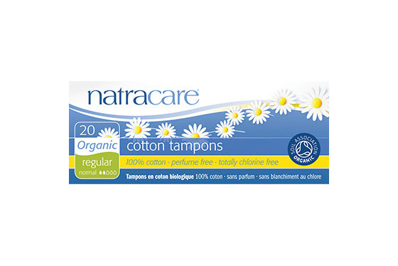 Natracare- Regular Non-Applicator Organic Cotton Tampons