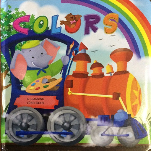 Colors: A Learning Train Book