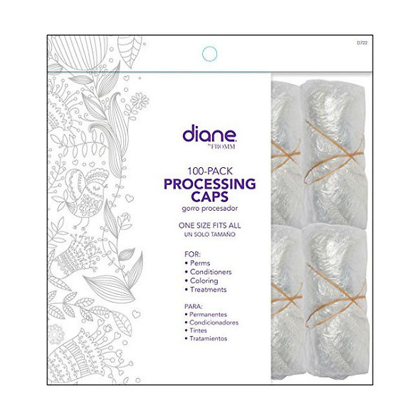 Diane Processing Caps, 100 Count
