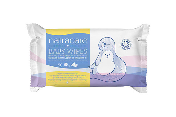 Natracare- Organic Baby Wipes