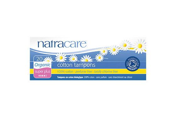 Natracare- Super Plus Non-Applicator Organic Cotton Tampons