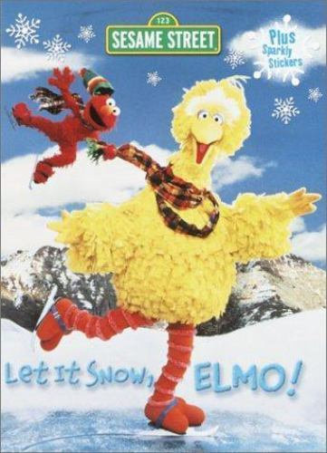 Let It Snow, Elmo! Coloring and Activity Book