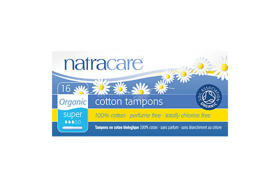 Natracare- Super Organic Cotton Tampons with Applicator