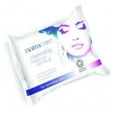 Natracare- Organic Cleansing Makeup Remover Wipes