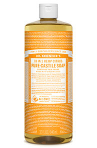 Citrus Liquid Castile Soap