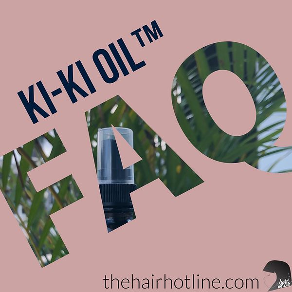 Ki-Ki Oil Frequently asked questions, hair growth oil questions, how to make my hair grow