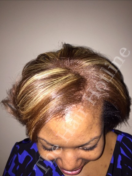 Color and Lightener on Relaxed Hair