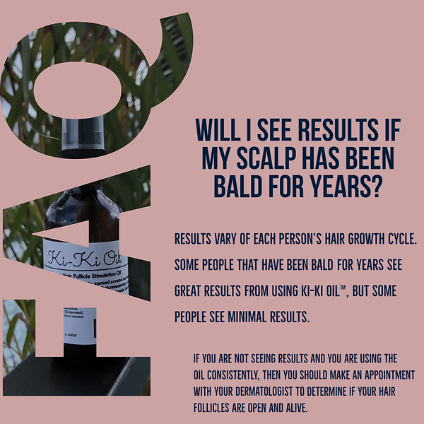 Kiki Oil for hair, oil for alopecia, hair growth oil, what can i do for my bald head, how to make my hair grow