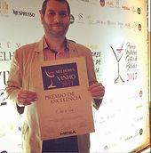 Prêmio 2017 prazeres da mesa vinho