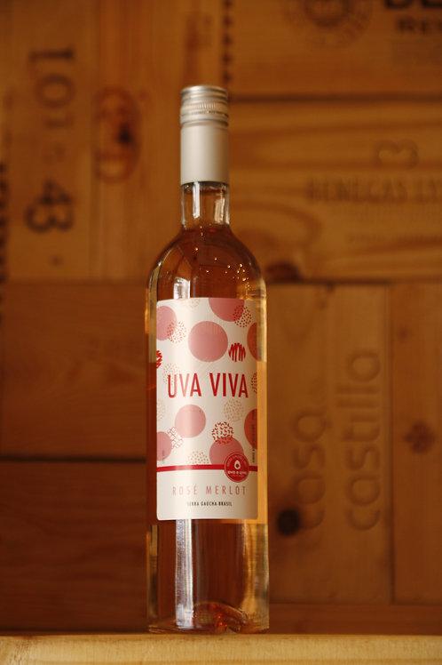 Uva Viva Merlot Rosé, Brasil 750ml