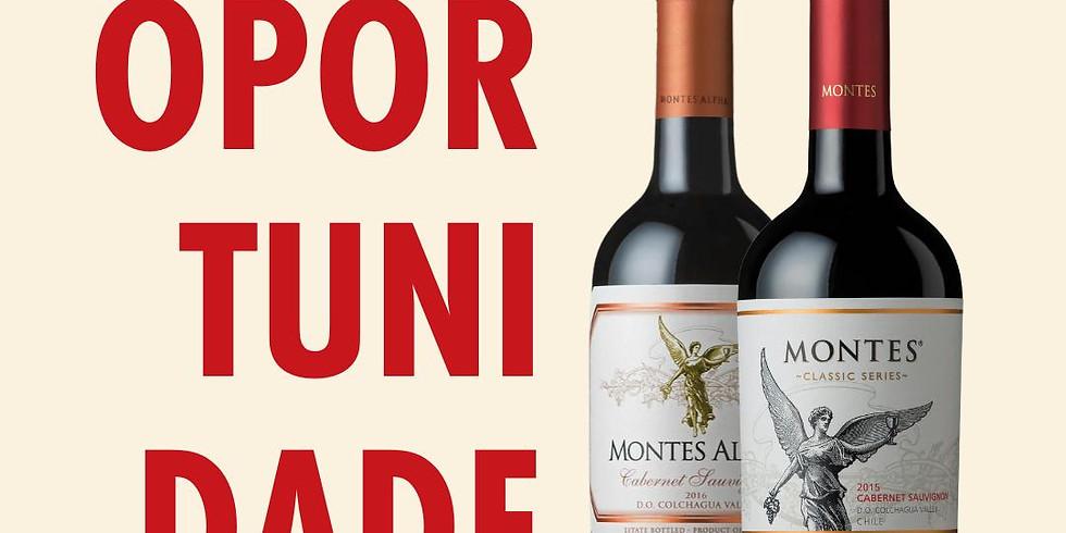 Kit vinhos MONTES