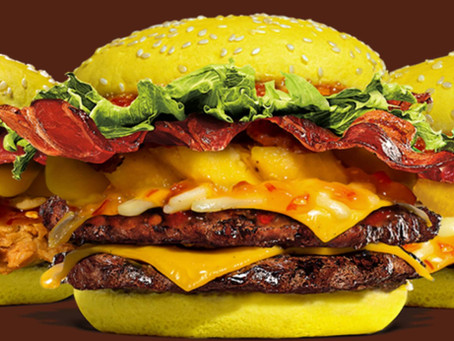 Burger King Luncurkan Burger Tropical Delight