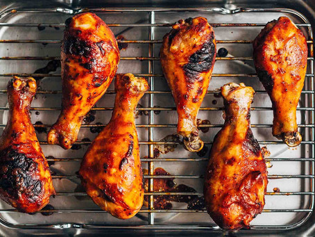 Grill Chicken with Barbeque Sauce