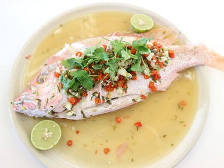 Steam Fish in Lime Sauce