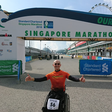 First paralympian-friendly marathon by Standard Chartered