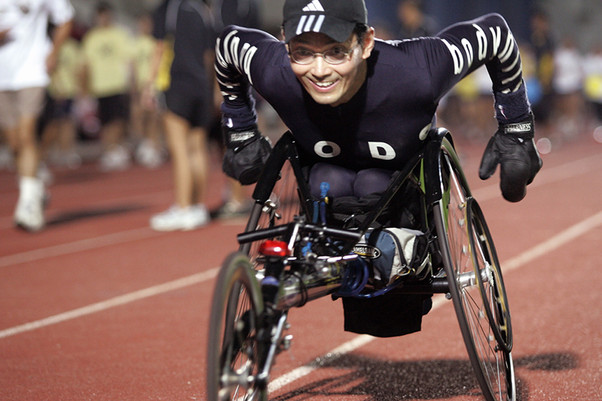 Dr. William Tan, The Paralympian and Triple Gold Medalist at the Asia Pacific Para Games
