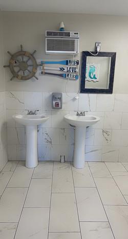 Bathroom Inside Lakehouse