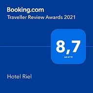 Booking.com premio 2021