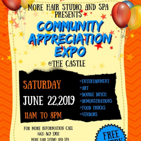 Community Appreciation Expo June 22nd!!  Join Us!!
