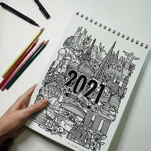 2021 Calendar Preorder