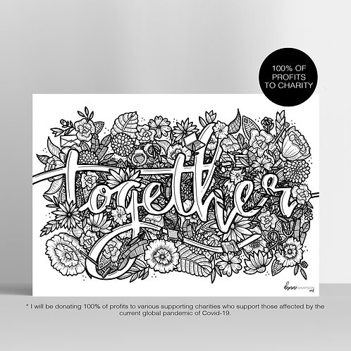 Together Charity Print