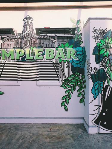 Temple Bar Mural