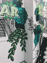 Close Up mural