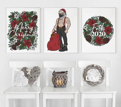 Three white frames - Christmas theme.jpg