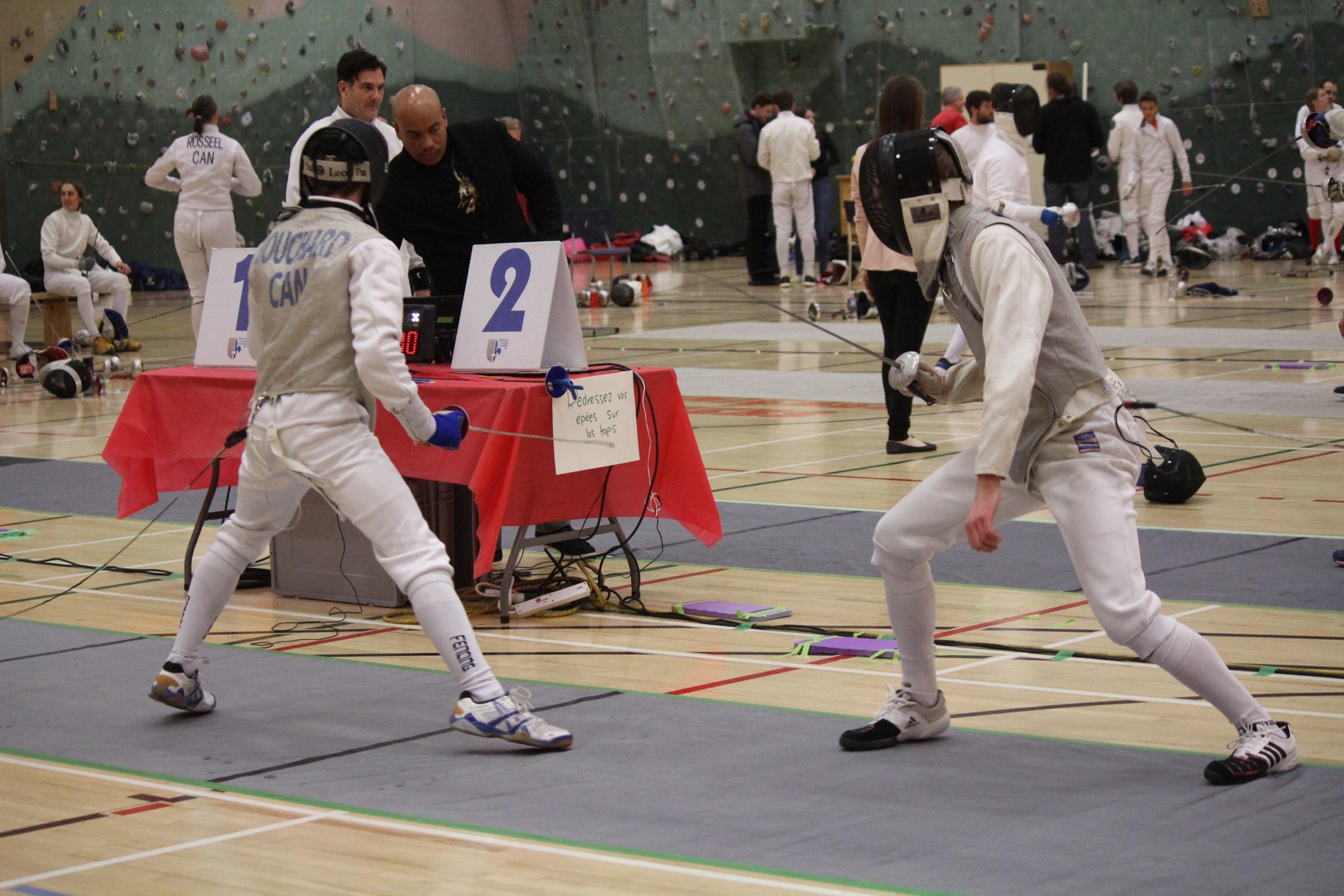 Francis vs Julien en finale 16