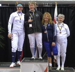 2017-09-24 podium Épée Vet Féminin m