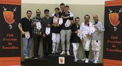18_podium_Fleuret_AAA_Équipe