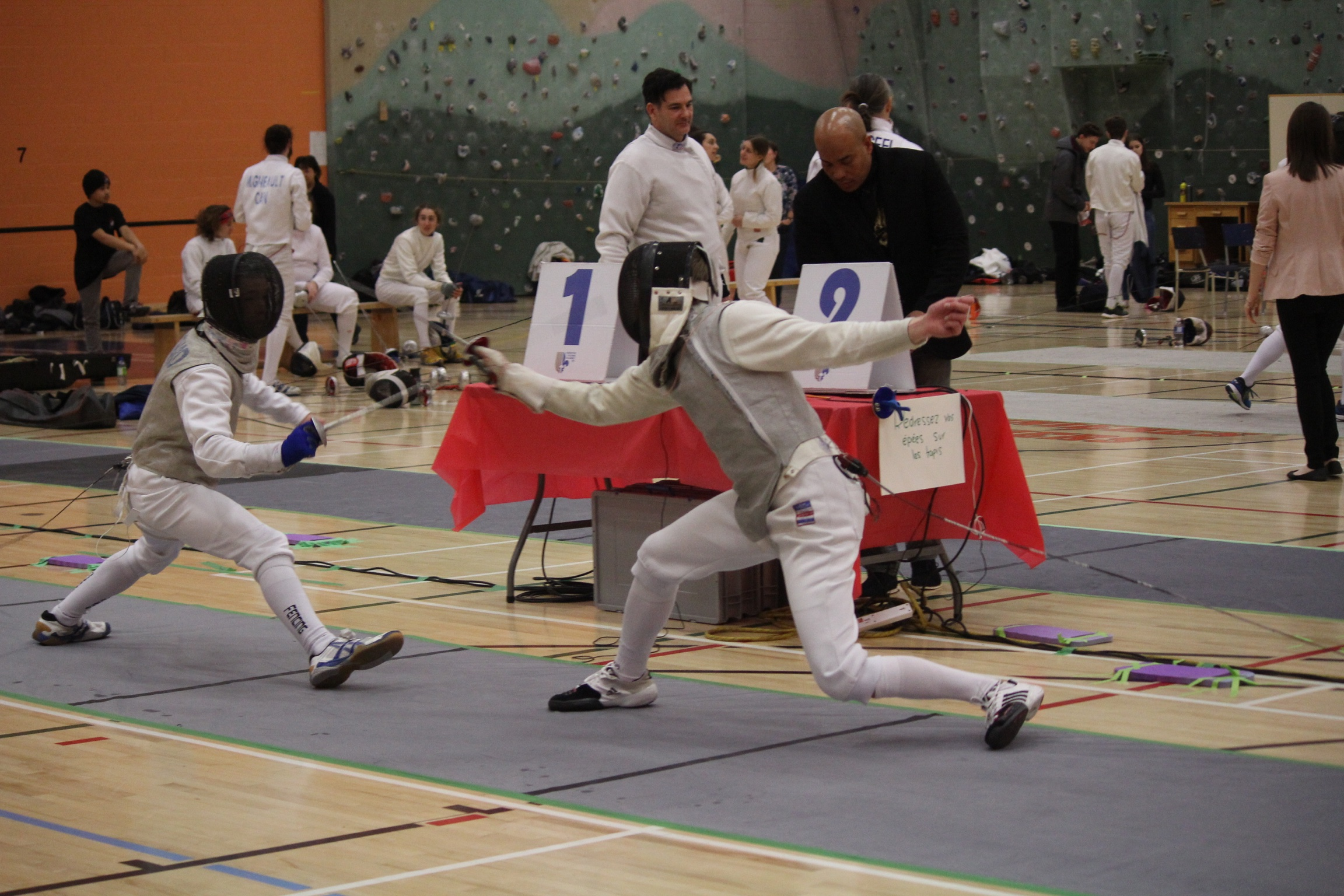 Francis vs Julien en finale 15