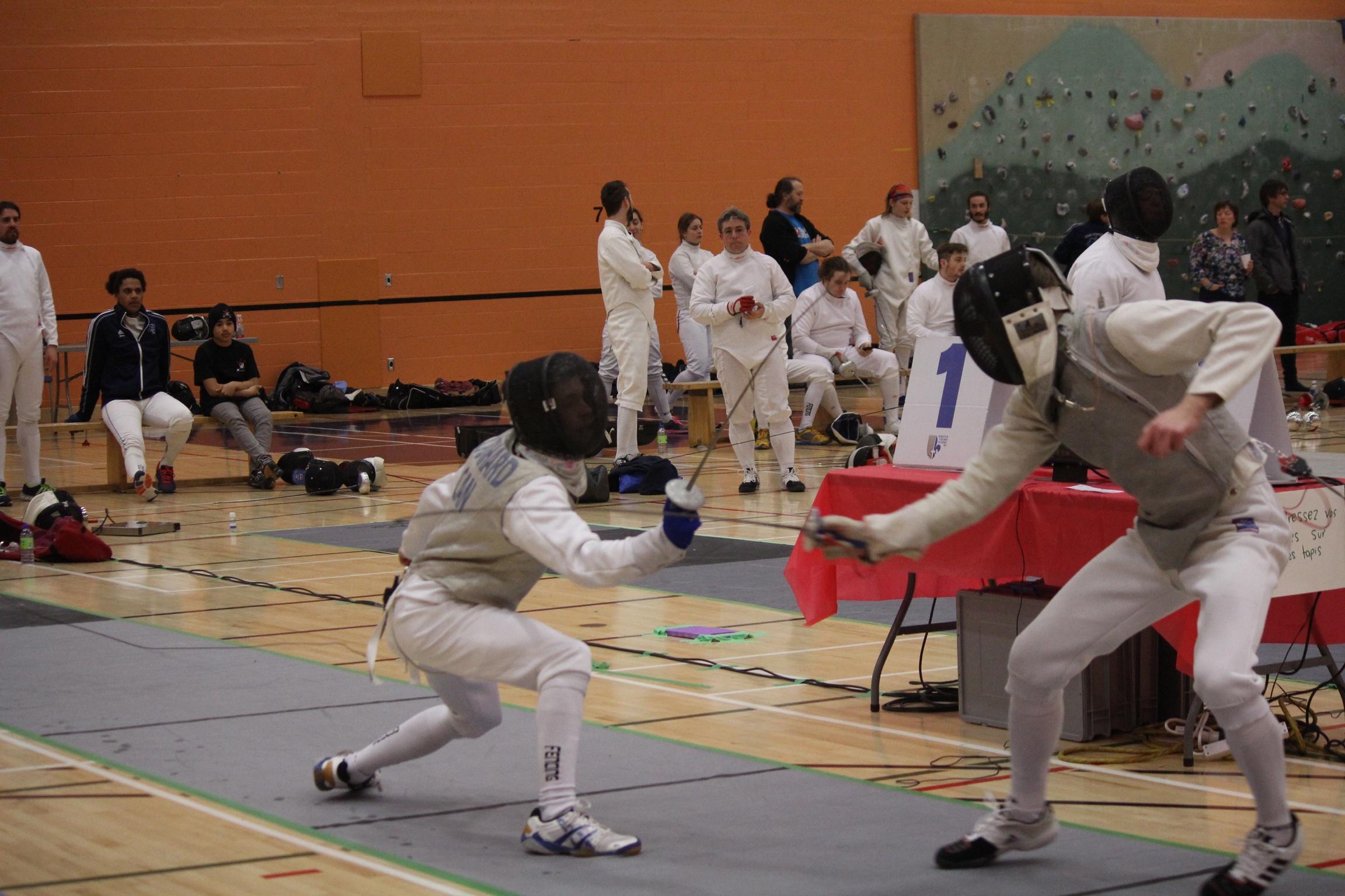 Francis vs Julien en finale 9
