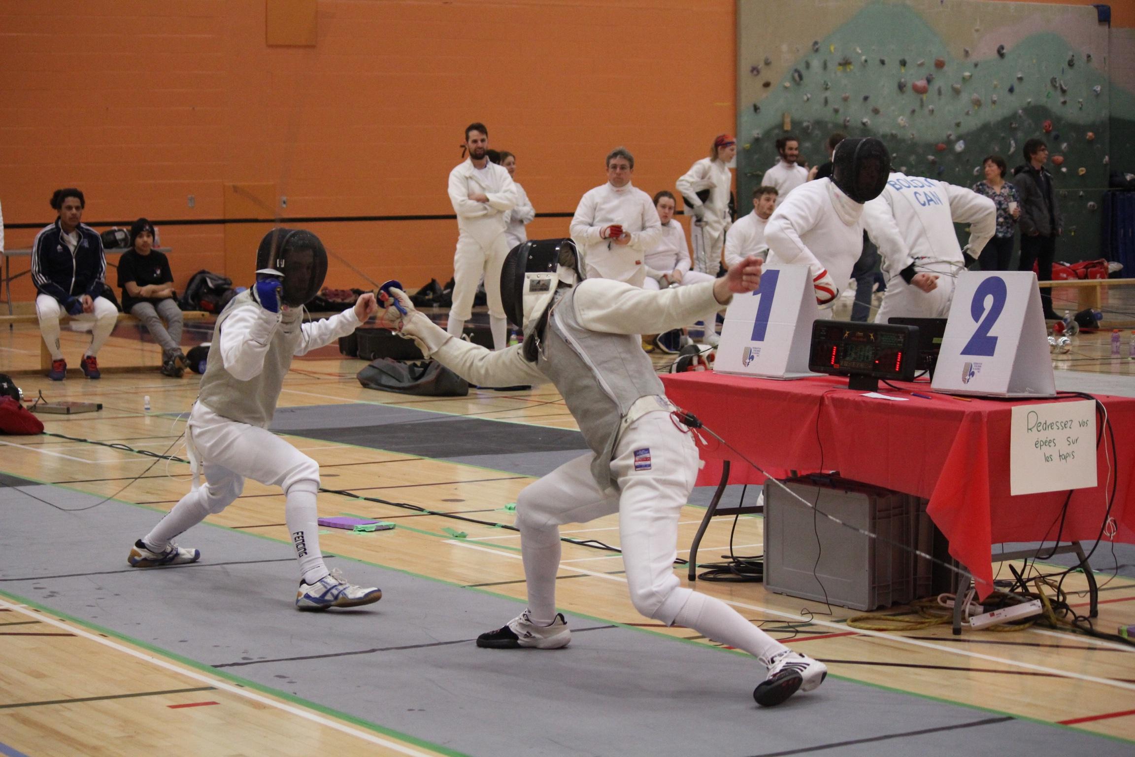 Francis vs Julien en finale 10