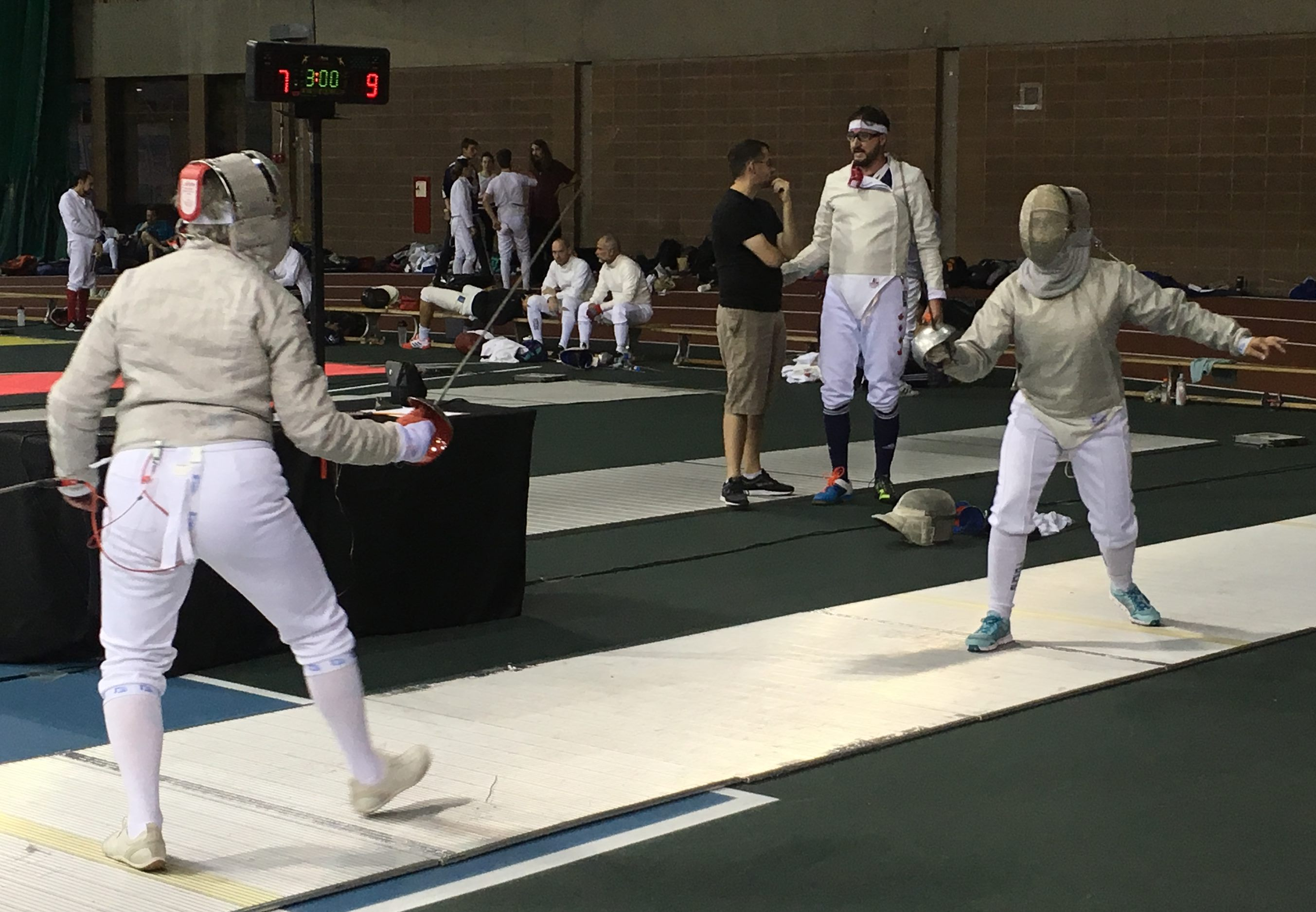 2017-09-24 Sandra Couture en combat m