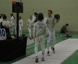 Test des vestes avant la finale AAA masc