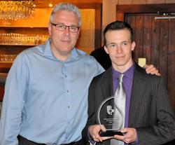 Francis Bouchard et Dany Leroux - Champion Fleuret AAA et Cadet