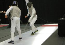 Léandre_Villeneuve_en_combat